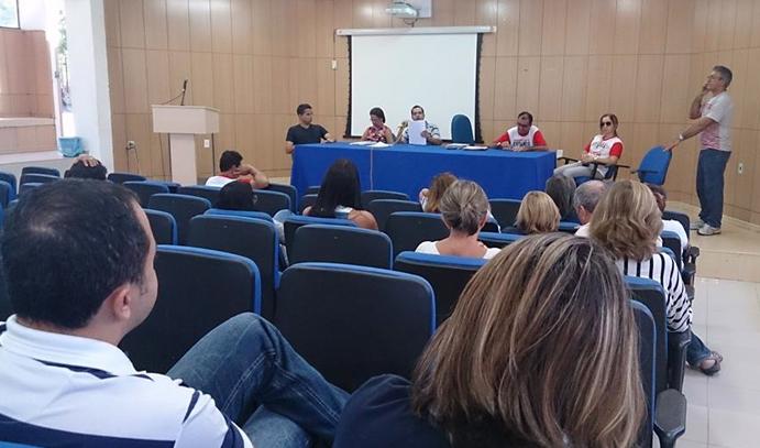 Assembleia geral em Cajazeiras