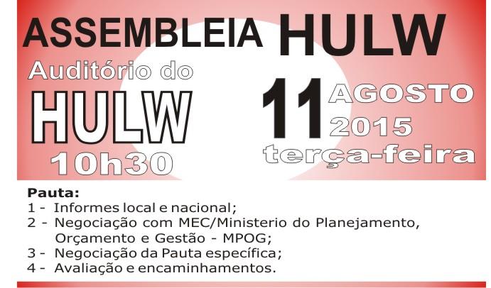 ASSEMBLEIA HULW - 11 08 2015