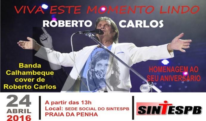 CARTAZ ROBERTO CARLOS