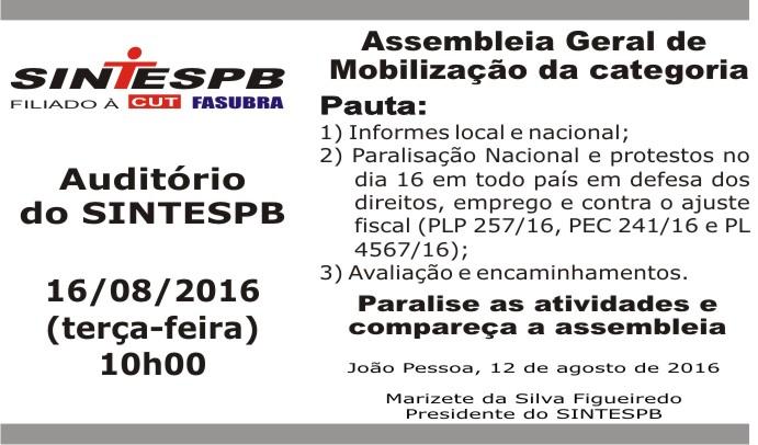 Assembléia Geral 002 2016 (16 08 2016)
