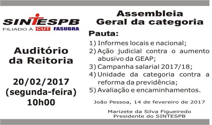 Assembléia Geral 001 2017 (20 02 2017)