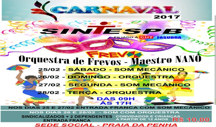 CARNAVAL 2017 site