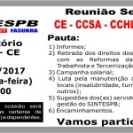 Reunião Setorial - CE - CCSA - CCHLA - CEAR 2017