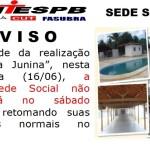 AVISO Sede Social São João 2017 site