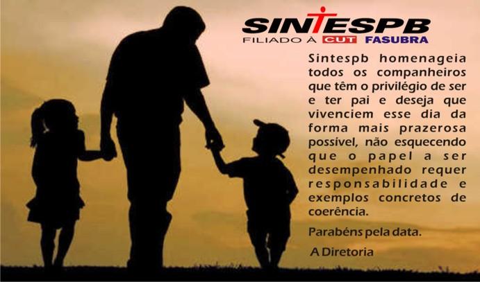 SINTESPB Dia dos Pais
