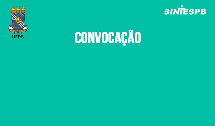 CONVOCACAO