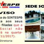 Aviso Sede Social - 15 11 2017
