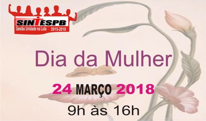 0edc6f7faf SINTESPB comemora Dia da Mulher no próximo sábado na sede social da Penha