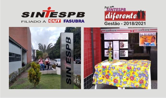 73b79f8ea1 22 DE NOVEMBRO  SINTESPB mobiliza categoria no Dia Nacional de Luta contra  o racismo e em defesa da Democracia